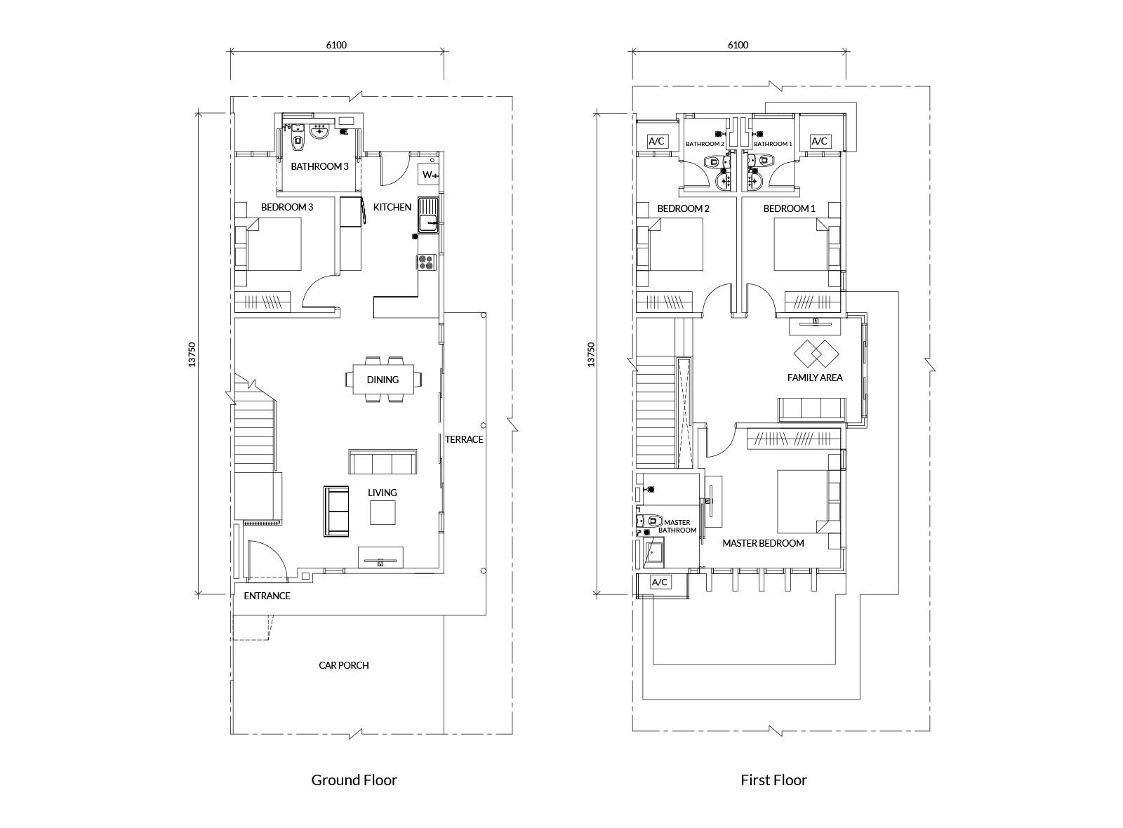 100 types staircase names floor plan free floor for Meuble belot soignies