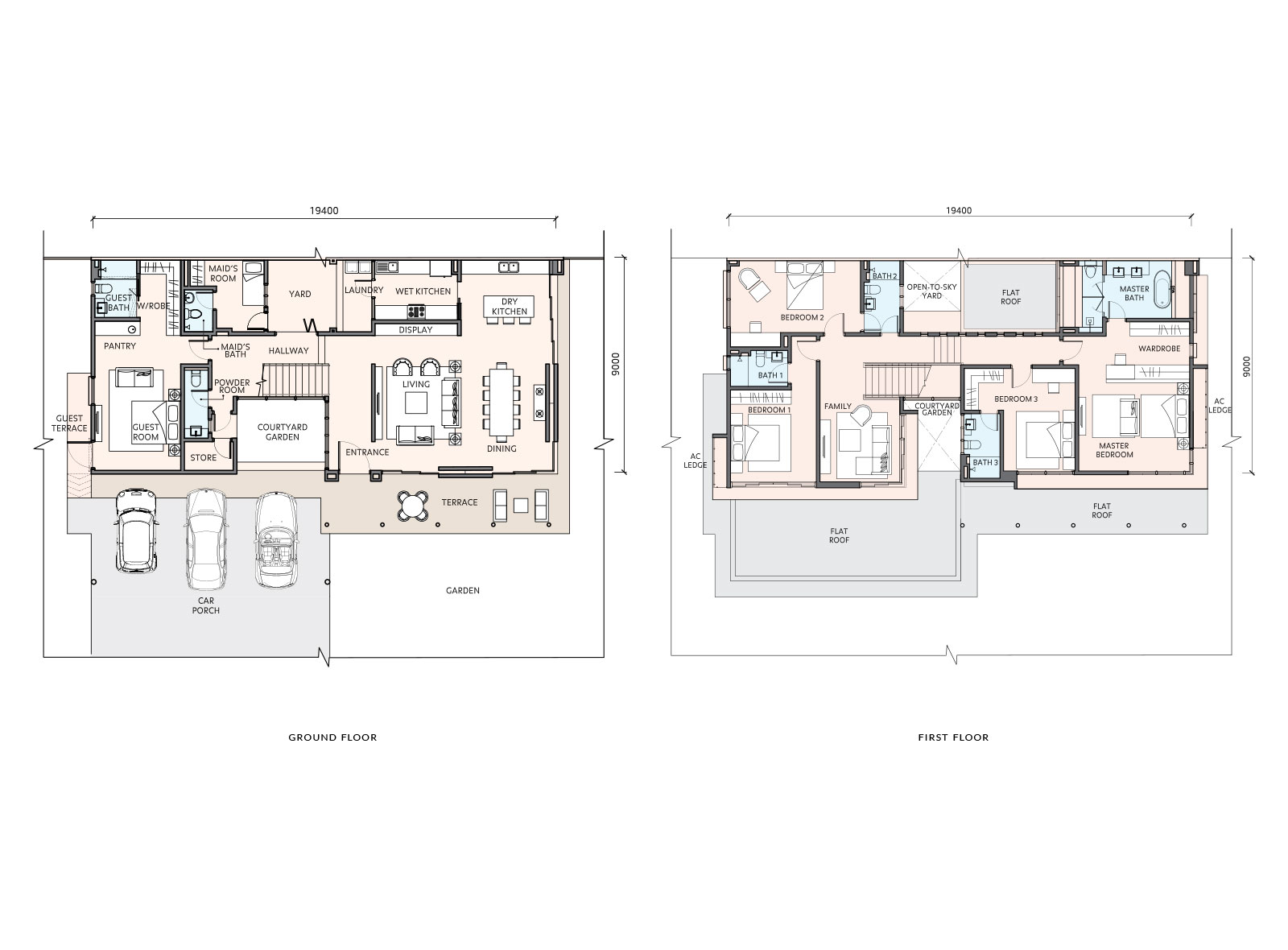 Tiana sime darby property for Floor plan cost estimator