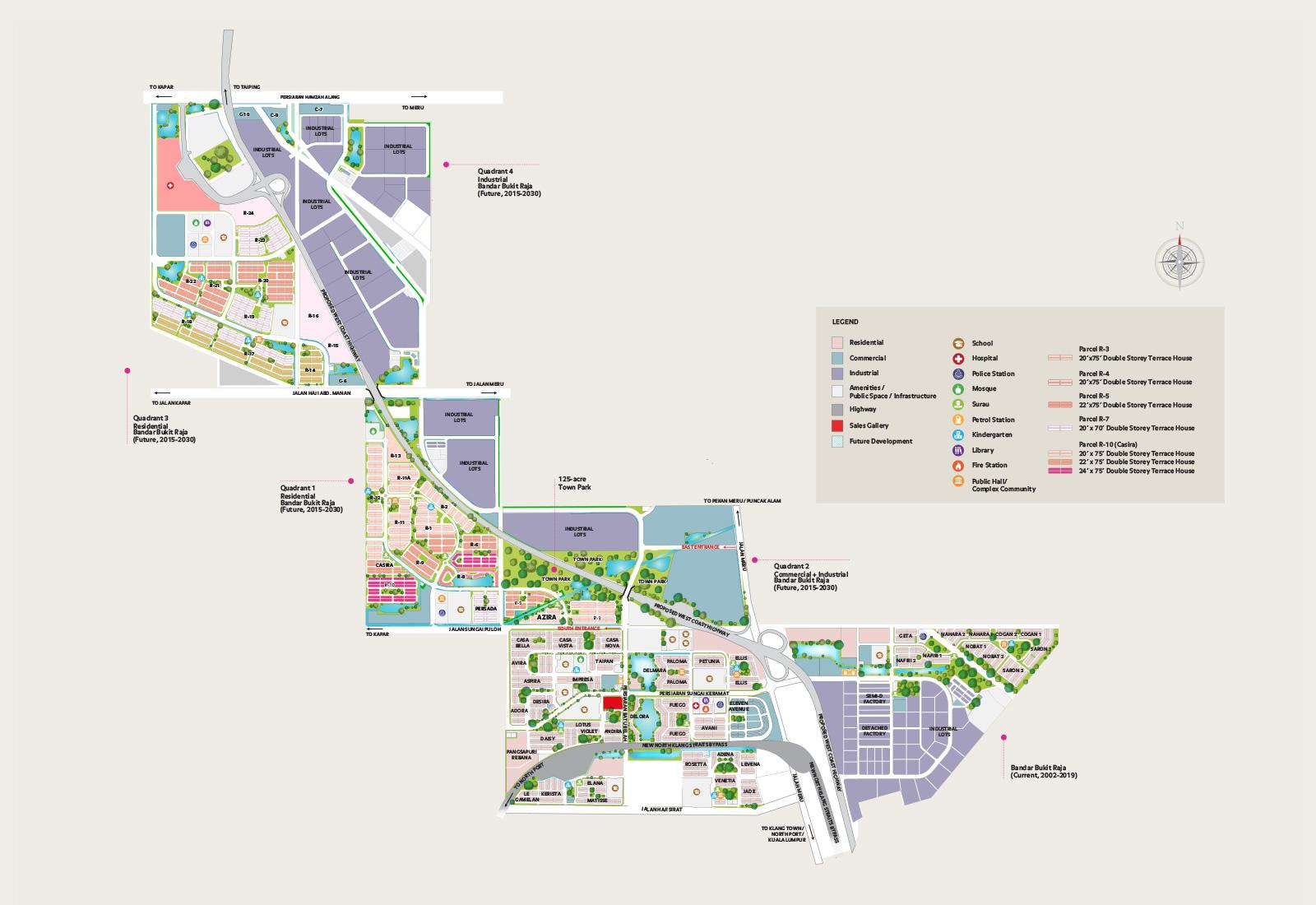 Image result for bandar bukit raja
