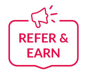 Refer & Earn logo